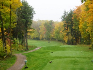Hole 11 in Autumn