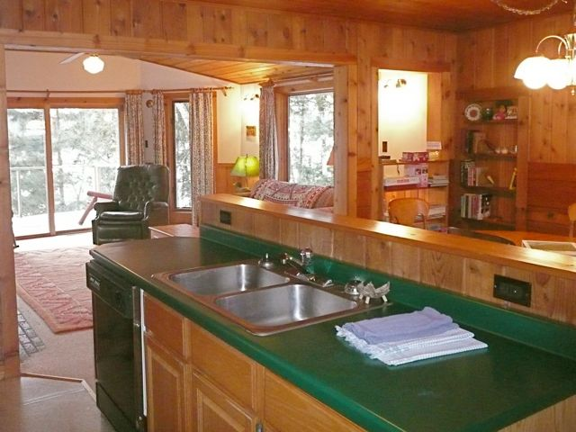 Open Kitchen in Woods Hill
