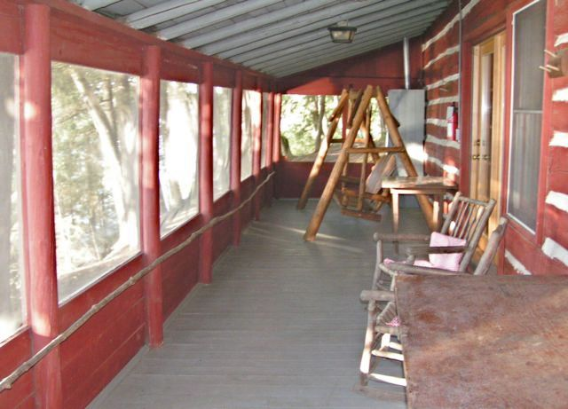 Screen Porch of Big Pine