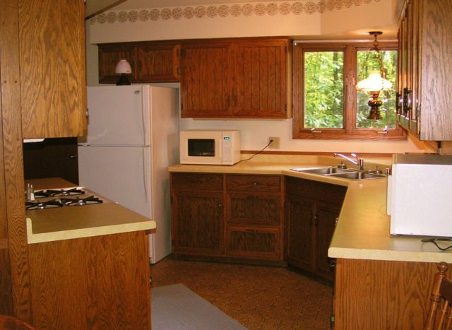 Kitchen in Boulder Knoll