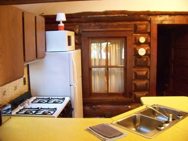 Kitchen in Balsam