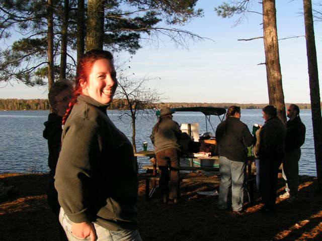 Picnic on the State owned Wilderness Islands on Teal Lake