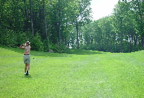 Hole 9 Fairway