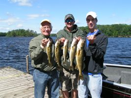 Grandpa Gunkle with more walleye